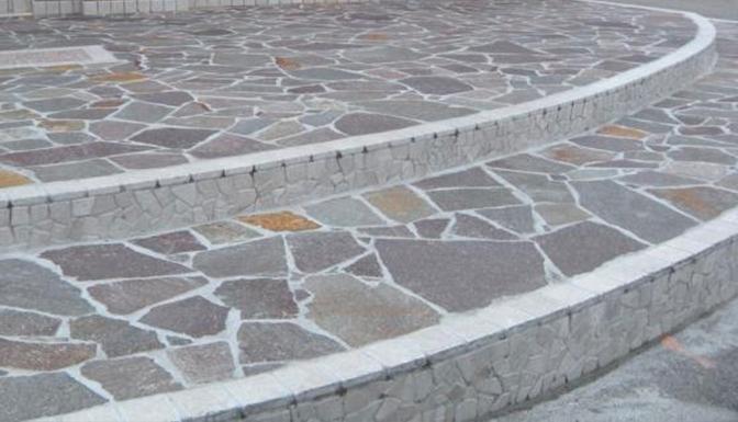 Pavimenti per scale esterne scala interna scegli il cotto fatto a