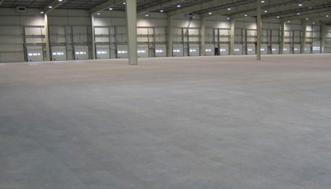 Pavimenti In Cemento Industriale : Pavimento industriale in cemento idea del concetto di interior